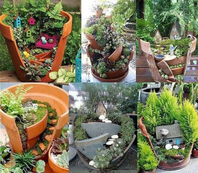 Amazing DIY Mini Fairy Garden for Miniature Landscaping 88