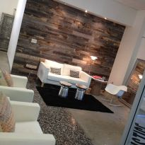 Artistic Pallet, Peel and Stick Wood Wall Design and Decorations 44