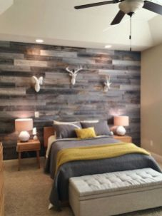 Artistic Pallet, Peel and Stick Wood Wall Design and Decorations 75