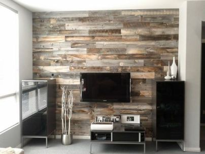 Artistic Pallet, Peel and Stick Wood Wall Design and Decorations 76