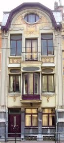 Beautiful art nouveau building architecture design 2