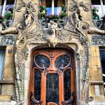 Beautiful art nouveau building architecture design 4