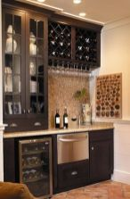 Corner bar cabinet for coffe and wine places 10