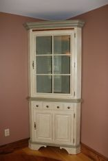 Corner bar cabinet for coffe and wine places 19