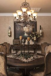 Glorious and Luxury Western Dining Room Design 12