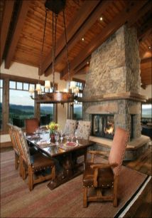 Glorious and Luxury Western Dining Room Design 24