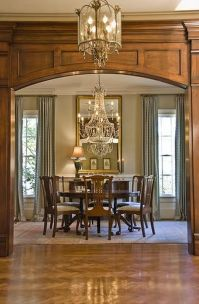 Glorious and Luxury Western Dining Room Design 35