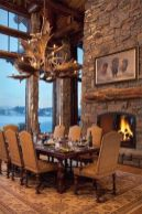 Glorious and Luxury Western Dining Room Design 40