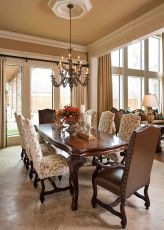 Glorious and Luxury Western Dining Room Design 45