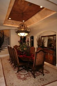 Glorious and Luxury Western Dining Room Design 5