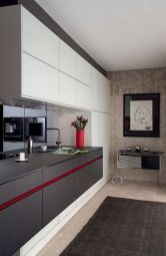 Modern and Contemporary Kitchen Cabinets Design Ideas 26