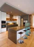 Modern and Contemporary Kitchen Cabinets Design Ideas 43