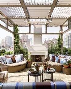Amazing Rooftop Porch and Balcony Inspirations 9