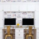 Awesome Built In Cabinet and Desk for Home Office Inspirations 14