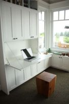 Awesome Built In Cabinet and Desk for Home Office Inspirations 6