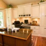 Awesome Built In Cabinet and Desk for Home Office Inspirations 7