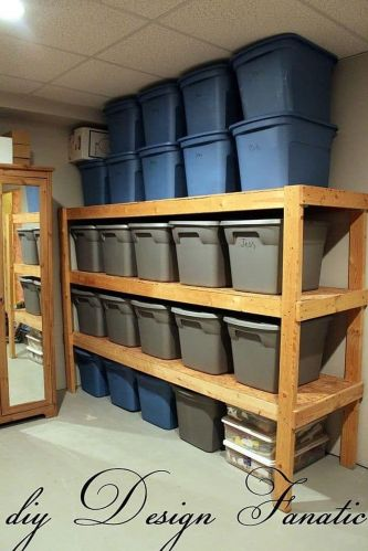 Best Garage Organization and Storage Hacks Ideas 93