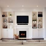 Brilliant Built In Shelves Ideas for Living Room 39