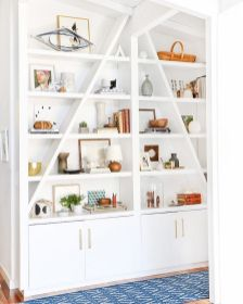 Brilliant Built In Shelves Ideas for Living Room 55