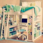 Cool Loft Bed Design Ideas for Small Room 18