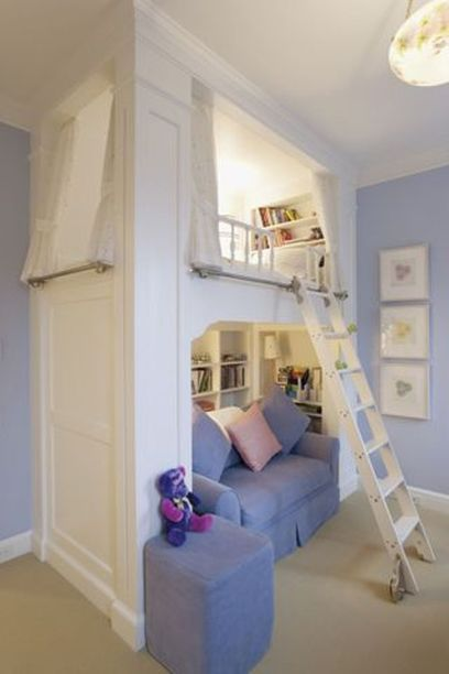 Cool Loft Bed Design Ideas for Small Room 29