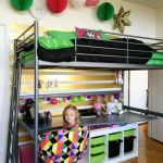 Cool Loft Bed Design Ideas for Small Room 37