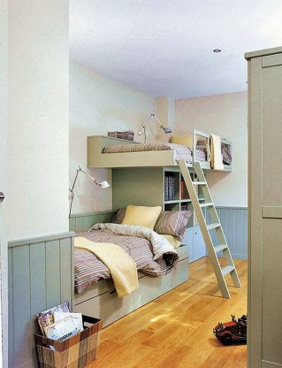Cool Loft Bed Design Ideas for Small Room 38