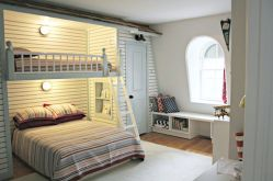 Cool Loft Bed Design Ideas for Small Room 6
