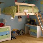 Cool Loft Bed Design Ideas for Small Room 84