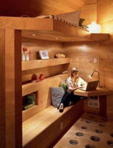 Cool Loft Bed Design Ideas for Small Room 89