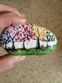 Creative DIY Easter Painted Rock Ideas 16