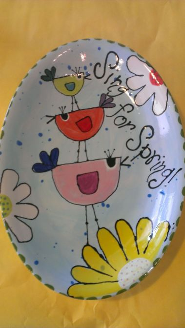 Creative DIY Easter Painted Rock Ideas 24
