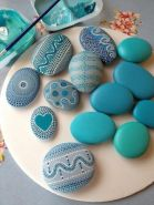 Creative DIY Easter Painted Rock Ideas 3