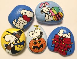 Creative DIY Easter Painted Rock Ideas 47