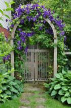 Fascinating Garden Gates and Fence Design Ideas 23
