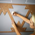Inspiring Creative DIY Tape Mural for Wall Decor 37
