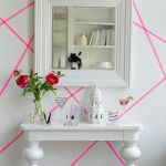 Inspiring Creative DIY Tape Mural for Wall Decor 44
