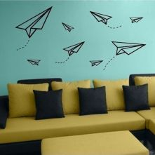 Inspiring Creative DIY Tape Mural for Wall Decor 56