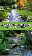 Inspiring Dry Riverbed and Creek Bed Landscaping Ideas 24