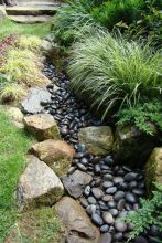 Inspiring Dry Riverbed and Creek Bed Landscaping Ideas 28