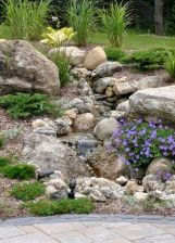 Inspiring Dry Riverbed and Creek Bed Landscaping Ideas 44