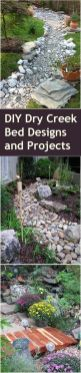 Inspiring Dry Riverbed and Creek Bed Landscaping Ideas 64
