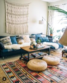 Minimalist Hippie Interior Decorations Ideas 14