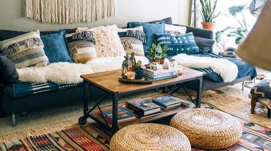 Minimalist Hippie Interior Decorations