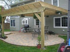 Perfect Pergola Designs for Home Patio 27