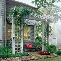 Perfect Pergola Designs for Home Patio 33