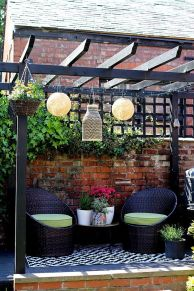 Perfect Pergola Designs for Home Patio 36