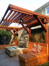 Perfect Pergola Designs for Home Patio 48