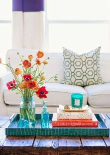 Spring Home Table Decorations Center Pieces 13