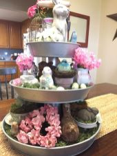 Spring Home Table Decorations Center Pieces 34